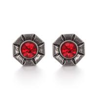 Wholesale 12 mm snap button charms resale online - 10pieces charm crystal mm metal snaps button for women s bracelet metal snap bracelets mm TZ79