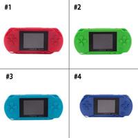 16 bit taşınabilir oyun konsolu toptan satış-Sıcak satış PXP3 Taşınabilir 16 Bit Taşınabilir Oyun Oyuncu Video Oyun Konsolu Klasik Çocuk Oyunları PXP 3 İnce İstasyonu