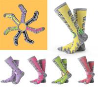 Wholesale Ski Boards - Socks 86.1% Cotton Hiking Socks Outdoor Women & Men Sports Socks For Boarding Skiing Autumn Winter New Style Thick towel bottom Sock G490Q