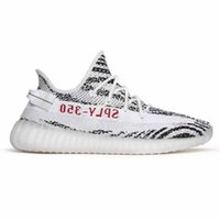 Wholesale freeze branding - boost SPLY 350 V2 Beluga 2 real yellow Frozen Zebra luxury Running Shoes Mens Womens sports Brand Sneakers new designer and Kanye West