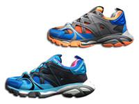 Wholesale direct factory sale - Hot! Factory Direct Sale Bal Ga Men Running Shoes 17FW 3.0 Triple-S Sneaker Luxury Fashion Designer Dad Shoes
