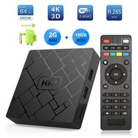 Wholesale Android TV Box HK1 Version GB RAM GB ROM K Internet Media Streaming Player