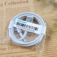 Wholesale package cable - Quality A+++ Phone Cable Charger Cable 1M 3FT Charging Line for iPhone with Retail Package