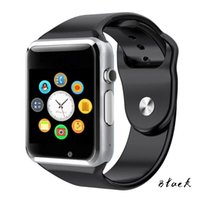 Wholesale pedometer bluetooth - A1 Sovo SG04 WristWatch Bluetooth Smart Watch Sport Pedometer With SIM Camera Smartwatch For Android Smartphone Russia T15 good than DZ09