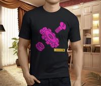 nivel de máquina al por mayor-Nuevo LEVEL 42 WORLD MACHINE Camiseta negra para hombre de Rock Band, talla S-3XL