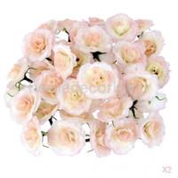 Shop artificial flowers wholesale bulk uk artificial flowers 100 piece artificial silk fake rose flower heads bulk wedding decor pink mightylinksfo