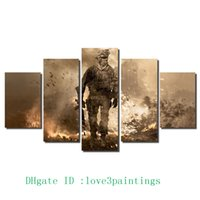 Wholesale Battlefield Figure - Battlefield Soldier -1,5 Pieces Home Decor HD Printed Modern Art Painting on Canvas (Unframed Framed)