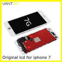 Wholesale replacement cell phones online – custom 100 OEM Original LCD display touch Screen Digitizer Assembly With frame D Touch cell phone replacement parts For iphone