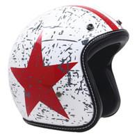 vespa шлем vintage оптовых-Полностью персонализированный легкий дизайн Локомотива, ретро-мотоцикл Harley, шлем принца. Шлем способа электрического автомобиля