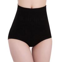 Wholesale High Waist Panties - Woman Panties Lot Underwear Sexy Womens High Waist Tummy Control Body Shaper Briefs Slimming Pants Ladies Underwear