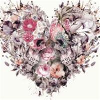 kits d'anime achat en gros de-Inachevé Décor Diy 5d Diamant Peinture Kits Broderie Fleur Cristal Ensembles Peintures Amour Motif Avec Pure Main 31 36lf6 jj
