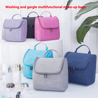 Wholesale gargle bag cosmetic resale online - Washing and gargle multifunctional make up bags Makeup Cosmetic Bags Skin care products Storage bag Cosmetic skin care kit DHL