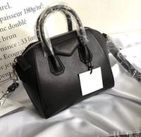 bolsos de diseñador de cuero real al por mayor-Antigona mini bolso de mano famosas marcas de diseñador bolsos de hombro bolsos de cuero real de la manera crossbody bolsa de negocios femeninos Messenger bags monedero