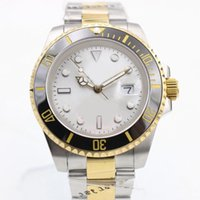 Wholesale white faced watches for men for sale - Group buy famous brand Mans luxury mechinal watch mm size White face Sapphire glass High quality swiss watches for men brands watches luxury54