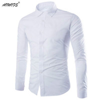 Wholesale Wholesale Luxury Clothing - Mens Shirts Long Sleeve Cotton Man Social Dress Shirt Male Checkered Shirt Brand Imported Clothing For Slimming Brand Luxury