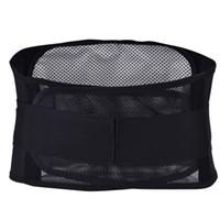 correias térmicas de massagem venda por atacado-Auto Massagem Respirável Massagem Terapêutica Anti Fadiga Dor Aliviar Magnética Da Cintura Apoio Lombar Cintura Para Trás