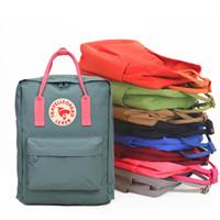 menina da forma bolsas venda por atacado-Suecos mochilas saco juventude escola estudante Para lona Meninas Adolescentes formal Estilo Designer de Moda de Nova Junior High School Marca bolsas femininas