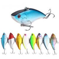 Wholesale vibe baits resale online - VIB Fishing Lures cm g Sinking Jerkbait Vibration Wobblers Plastic Rattlin Vibe Fake Hard Lure Artificial Bait Swimbaits