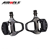 Wholesale aluminum bicycle pedals for sale - Group buy New Design Airwolf Bicycle Parts bike pedals for road Aluminum Alloy pedals for bicycle g bicycle pedal