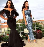 3cc121a7f06f1 Robe de soirée Yousef aijasmi Robe longue Manche longue Doux coeur Mermaid  Feather Puffle sleeve Noir Zuhair murad Kim kardashian