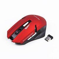 2.4g mouse óptico sem fio venda por atacado-2018 Original iMice E-1700 Sem Fio Gaming Mouse Óptico USB Mouse de Computador Com Receptor 2.4G 6 Botões Ratos Pacote de Varejo
