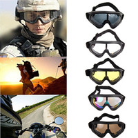 Wholesale anti fog sunglasses resale online - Skiing Eyewear Snowboard Motorcycle Dustproof Sunglasses Ski Goggles UV400 Anti fog Outdoor Sports Windproof Eyewear Glasses