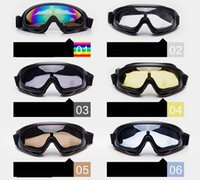 Wholesale uv materials resale online - UV Cycling PC Lenses Material and Ski snow sports ourdoor used Ski Usage racing ski goggles