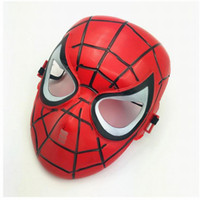 Wholesale avengers masquerade masks for sale - Group buy New Marvel The Avengers Spider Man Masks Helloween Cosplay Masquerade Masks Party Mask Toys Justice League Birthday Favors Toys Xmas Gift