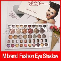 Wholesale valentines wear resale online - 2018 newest M Brand Makeup Color Eyeshadow Palette Fashion Eye Shadow for Valentine Gift dhl free