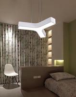 feux de bureaux industriels achat en gros de-Luminaire suspendu en gros industriel lustre lampe suspendue luminaires cellulaires luminaire 2colors pour le marché du bureau à domicile
