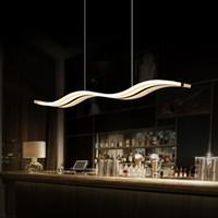 luces colgantes regulables al por mayor-TOP 38W regulable LED de luz colgante moderna Novedad creativa hogar interior Lámpara de Luz Colgante para Comedor sala de estar AC90-260V