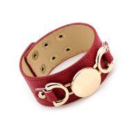 bangles bracelets girl UK - Luxury Design Sequins Female Wrap Genuine Leather Bracelets Trendy Braided Party Charm Bracelets Bangles Women Girls Jewelry