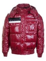 descuento de la chaqueta de los hombres s al por mayor-Marca Chaqueta de invierno Abajo de los hombres Abrigo Cálido Descuento Chaquetas de moda de lujo para los hombres Acolchados Hombre Abrigos Venta de alta calidad 60