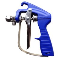 Wholesale pressure paint sprayer - High Pressure Airless Paint Spray Gun With Nozzle Guard Pump Sprayer And Airless Spraying Machine for Wagner Titan