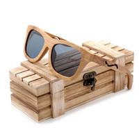 8aaa4f00e962b BOBO PÁSSARO Handmade Bambu Óculos De Sol das Mulheres UV400 óculos de Sol  Com Lente Polarizada Cinza BG004 Aceitar DropShip