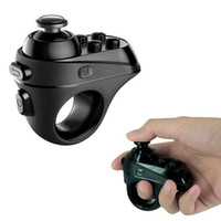 mini controlador de gamepad bluetooth al por mayor-Bluetooth 4.0 Gamepad VR Gafas 3D Control remoto Selfie Shutter Mini controlador de juegos inalámbrico Joystick para iPhone Android
