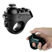 мини-контроллер bluetooth для геймпада оптовых-Bluetooth 4.0 геймпад VR 3D очки пульт дистанционного управления Selfie затвора мини беспроводной игровой контроллер джойстик для iPhone Android