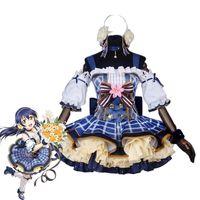 Wholesale kotori anime resale online - Japanese Anime Love Live Cosplay Costumes Flower Bouquet Arousa Kousaka Honoka Minami Kotori Ayase Eli Cosplay Costume
