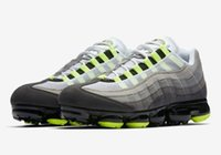 Wholesale soccer shoes for men sale online - Newest Hot Sale VaporMax OG Neon Sneakers For Men Sneakers Fashion Athletic Sport Shoe Hiking Jogging Walking Outdoor Shoes With Box