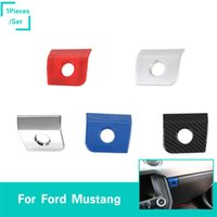 Wholesale mustangs accessories for sale - ABS Interior Armrest Storage Box Switch Cover Fit Ford Mustang Interior High Quality Car Accessories