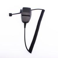 autoradio walkie talkie großhandel-Walkie Talkie Lautsprecher Fahrzeug Auto Mobile Radio Lautsprecher Mic Mikrofon Handheld für Motorola GR400 GR500 GM300