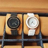 reloj de trébol de señoras al por mayor-AD Clover 3 Leaf Grass Ladies Dress Reloj de cuarzo, reloj de pulsera casual deportivo para hombres, relojes de marca de silicona