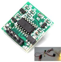 tableros de interruptores al por mayor-¡Envío gratis! 1pc / lot Timer Switch Controller Board 10S-24H Módulo de relé de retardo ajustable Para el interruptor de retardo / temporizador / lámpara de sincronización ect.