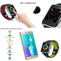 telefone móvel do relógio de pulso do androide venda por atacado-NEWM3 Inteligente relógio de Pulso Relógio Inteligente Com 1.54 polegada Tela de Toque LCD Para Android Relógio Inteligente SIM Telefone Celular Inteligente Com Pacote de Varejo