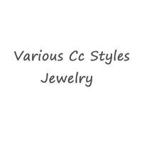 perlenkette brosche großhandel-Förderung Verschiedene Marke Buchstaben Broschen Ohrringe Halskette Haigh Qualität Kristall Perle Emaille Schmuck Für Frauen Braut Hochzeit Schmuck
