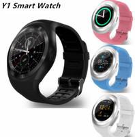 tracking sim karten großhandel-Heißer Verkauf Y1 Smart Watch 1,54