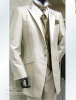 erkekler balo resimleri toptan satış-Yeni Gerçek resim Damat Smokin Adam Balo Blazer Suit Erkekler Düğün Takımları Damat Takım Elbise (Ceket + Pantolon + Yelek + Kravat) 278