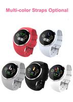 mobiltelefone bewertet großhandel-Curved Screen X6 Smartwatch mit Kamera Pulsmesser Blutdruck SIM TF Card Slot Smart Watch Armband für Android IOS Handy