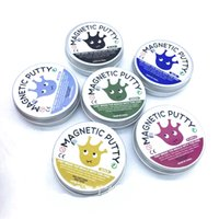 Wholesale Bounce Big - 6 Colors Magnetic bounce Putty Rubber Mud Hand Putty slime DIY slime Playdough Strong plasticine Originality Decompression Toys Devour