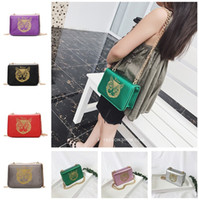 Wholesale kitty handbags resale online - Kids Handbags Baby Girls Cion Purses Fashion Korean Cross body Bags Classic Kitty Printed Chain Shoulder Bags Children Candy Snack Bags Gift